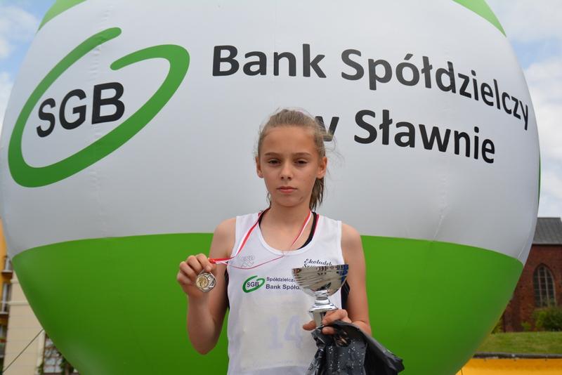 Weronika Zając mimo drugiego miejsca była rozczarowana zawodami w Sławnie.