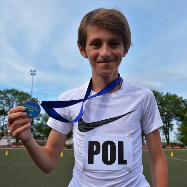 Mateusz godnie reprezentował barwy Polski